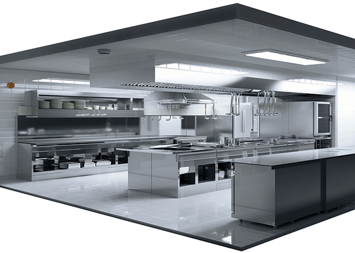 Kitchen: Due to the high fire load of open flames or frying pans, commercial kitchens are one of the most dangerous places in a hotel.