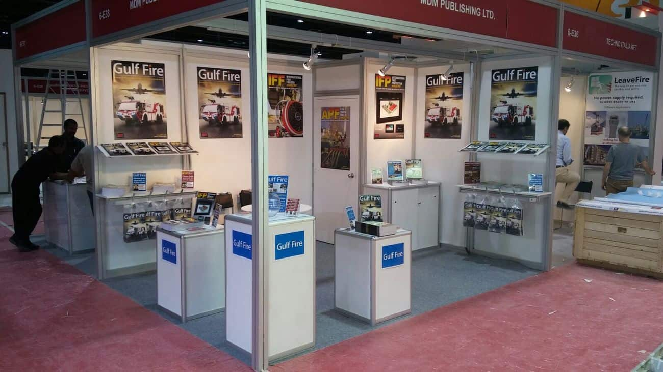 Gulf Fire Team are all set for Intersec