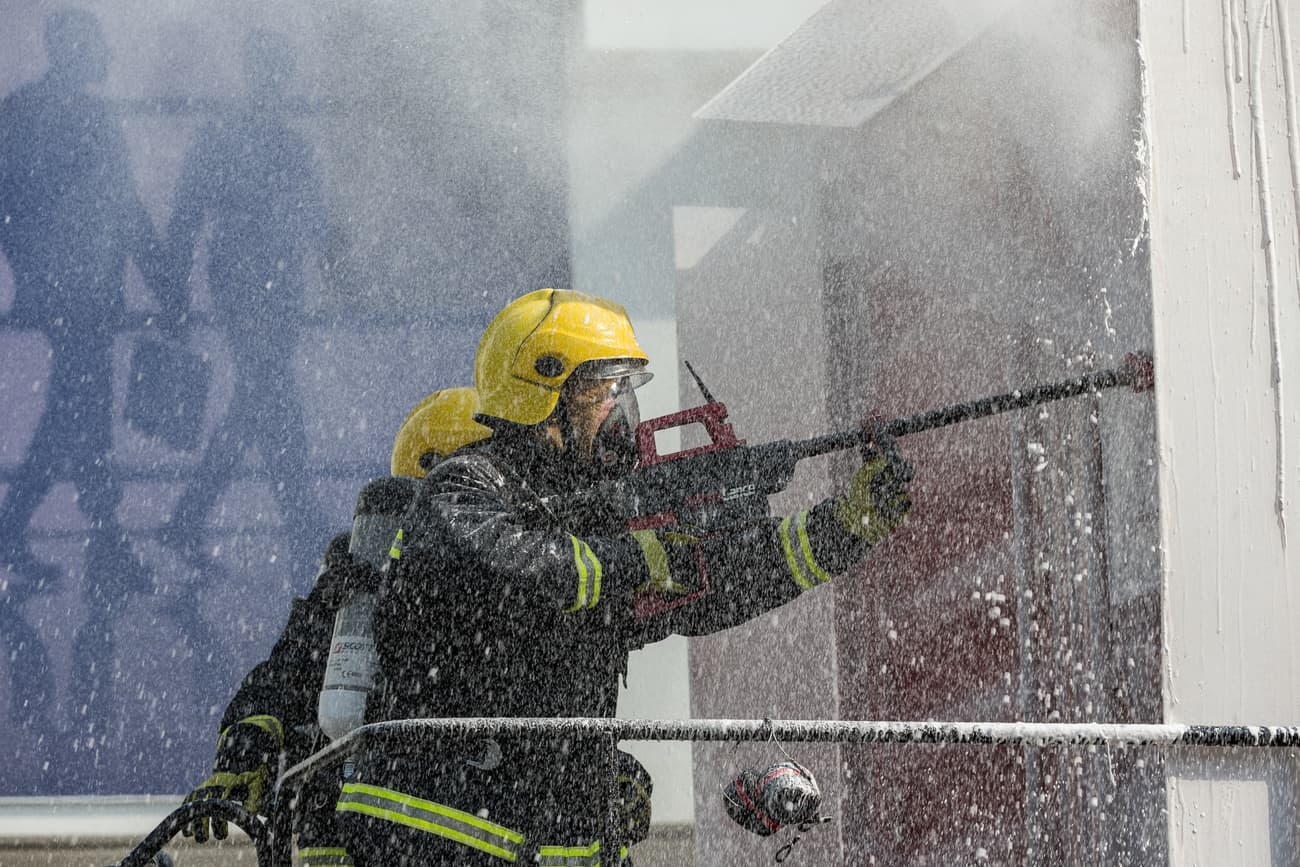 Concorde-Corodex Group introduces structure-piercing firefighting system to UAE Civil Defence and region-wide