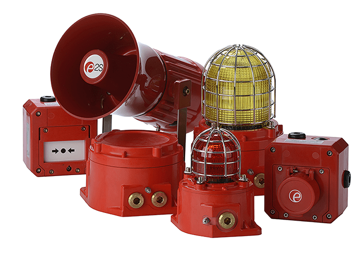 E2S adds light to family of Hazardous Location GRP warning signals with Xenon strobe beacons
