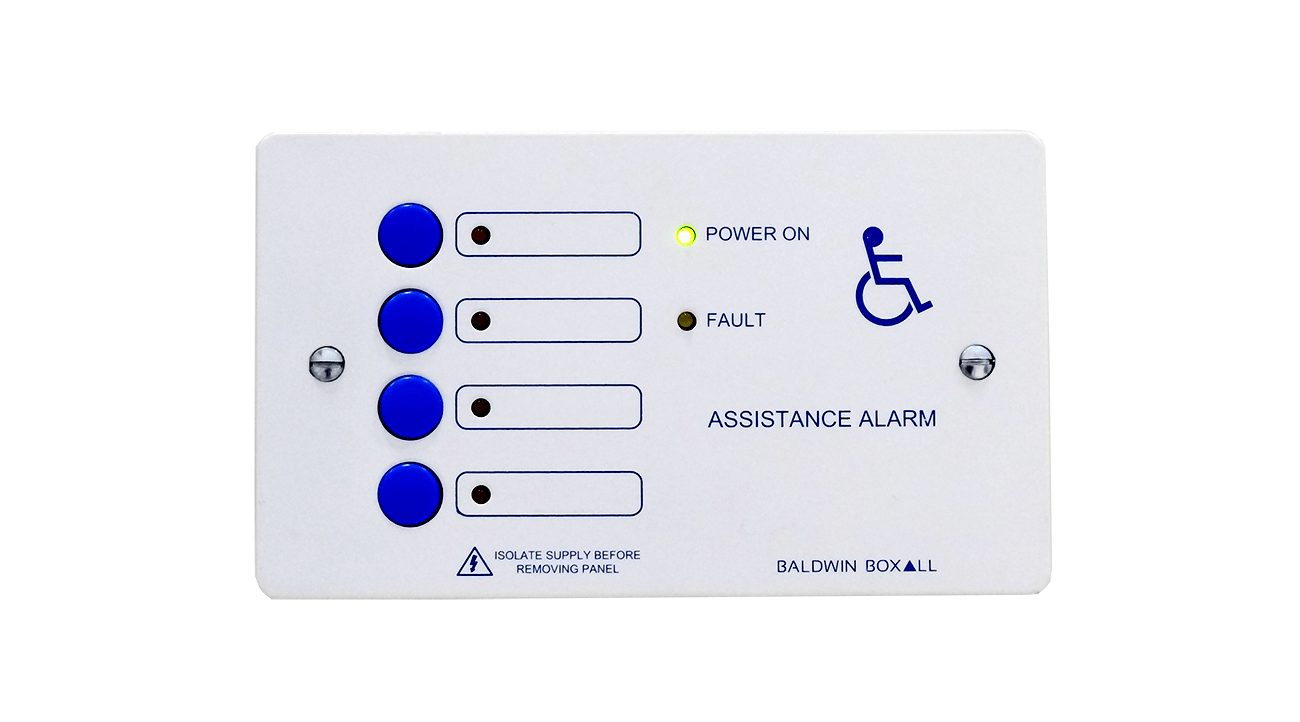 UK Manufacturer Announces New Toilet Alarm Control Panel