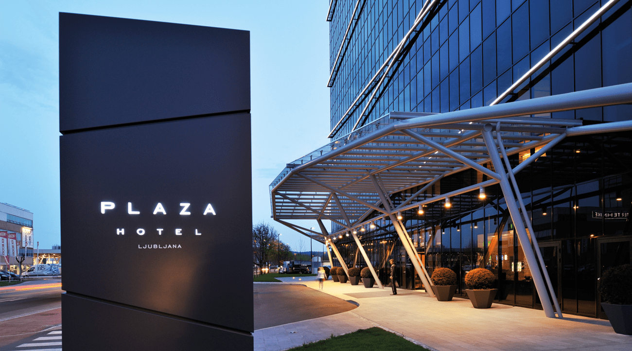 The Radisson Blu Plaza Hotel Ljubljana is one of the premier hotels in the city.
