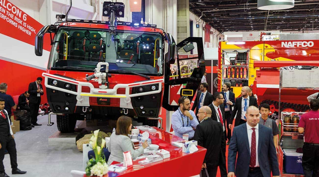 Three-day Dubai security, safety, fire protection trade fair to pass 1,300 exhibitor mark.
