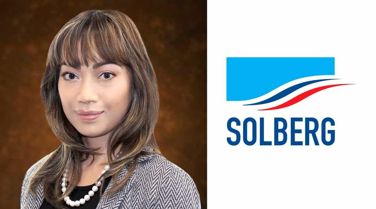 Solberg Appoints New Business Development Manager for Asia-Pacific Business Operation