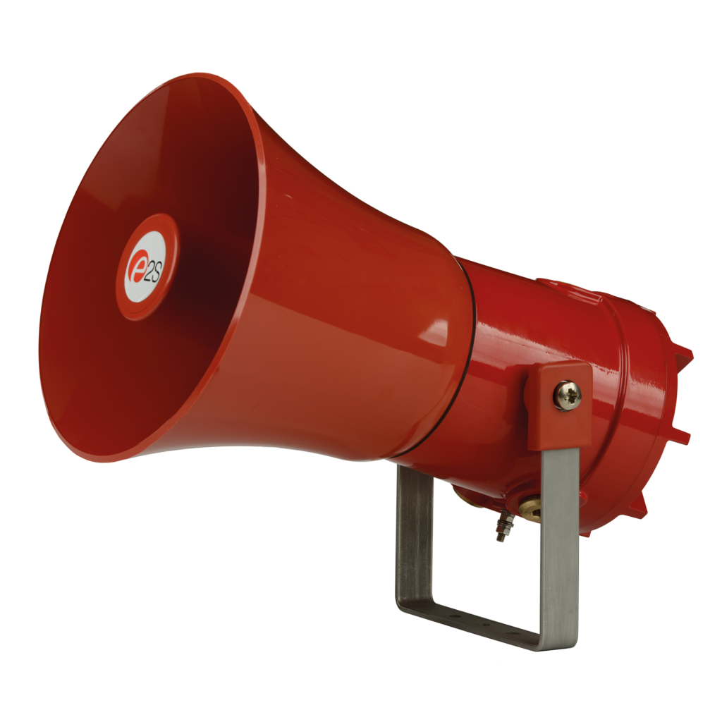 E2S D1xS alarm horn sounders, UL, cUL, IECEx and ATEX approved for Class I/II Div 1 and Zone 1/21.