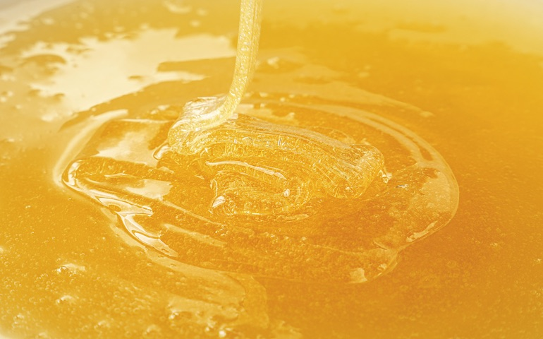 Thick & Gloopy: An example of high viscosity foam concentrate typical of some foam concentrates.