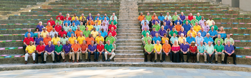 Members of the Metro Chiefs pictured at a recent conference in San Antonio, Texas.