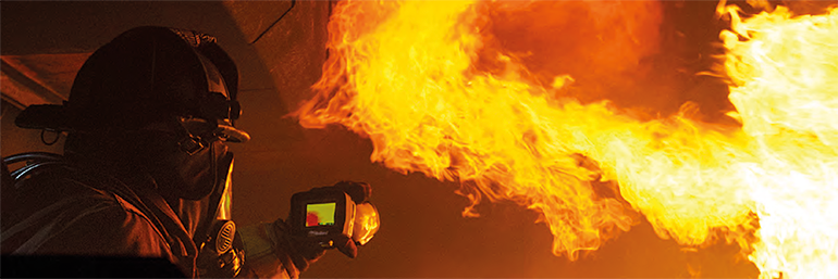 Image quality is key in order for the end user to be efficient in their firefighting duties.