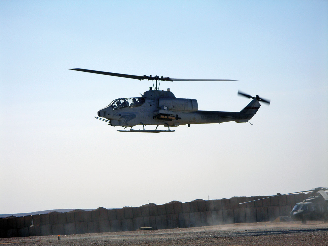 AH-1 Cobra, Attack Helicopter.