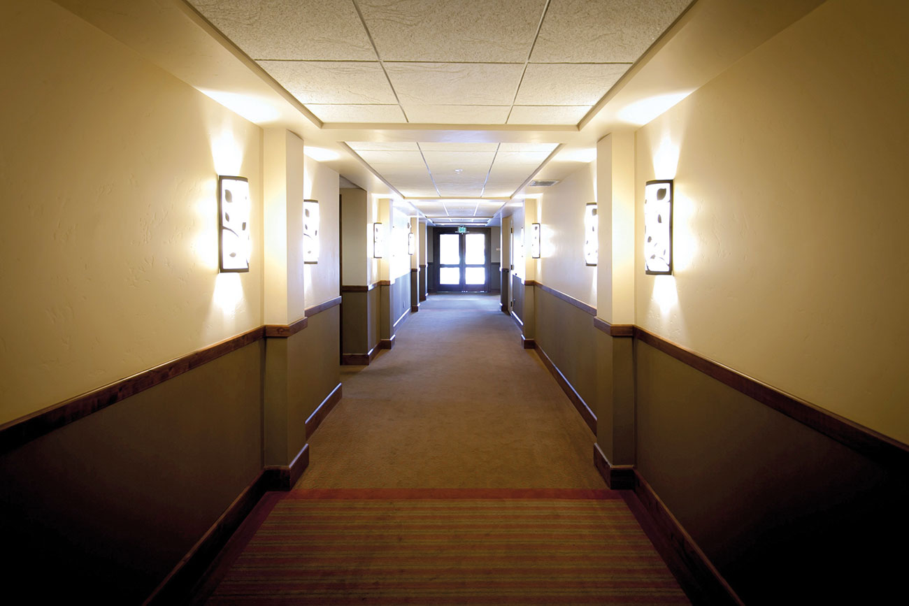 Smoke detection and control, emergency lighting, logistical support and signage are all important factors in managing hotel evacuation.
